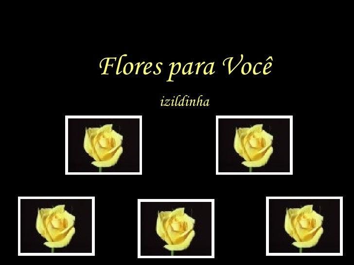 Flores para Você      izildinha