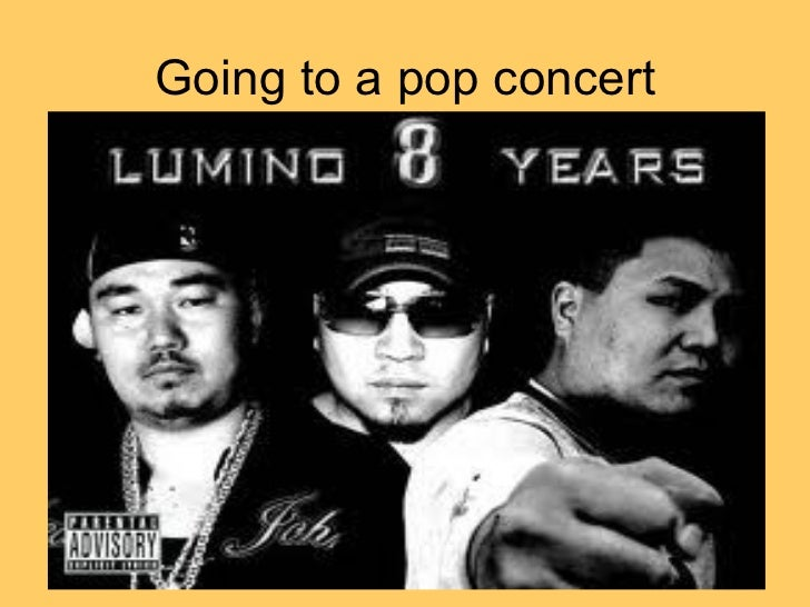 Going to a pop concert
