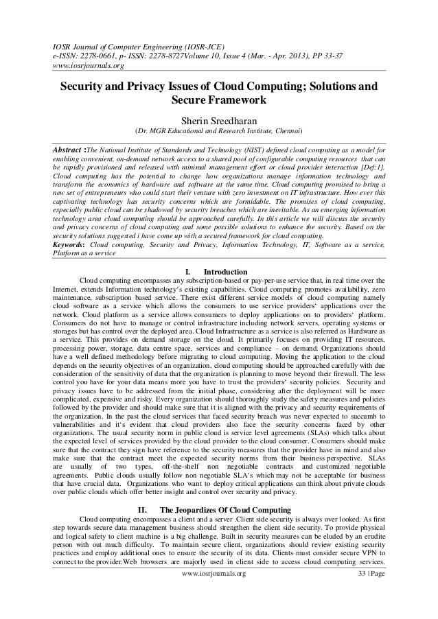 IOSR Journal of Computer Engineering (IOSR-JCE) e-ISSN: 2278-0661, p- ISSN: 2278-8727Volume 10, Issue 4 (Mar. - Apr. 2013)...