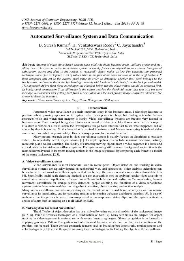 IOSR Journal of Computer Engineering (IOSR-JCE) e-ISSN: 2278-0661, p- ISSN: 2278-8727Volume 12, Issue 2 (May. - Jun. 2013)...