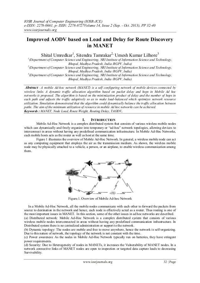 IOSR Journal of Computer Engineering (IOSR-JCE) e-ISSN: 2278-0661, p- ISSN: 2278-8727Volume 14, Issue 2 (Sep. - Oct. 2013)...