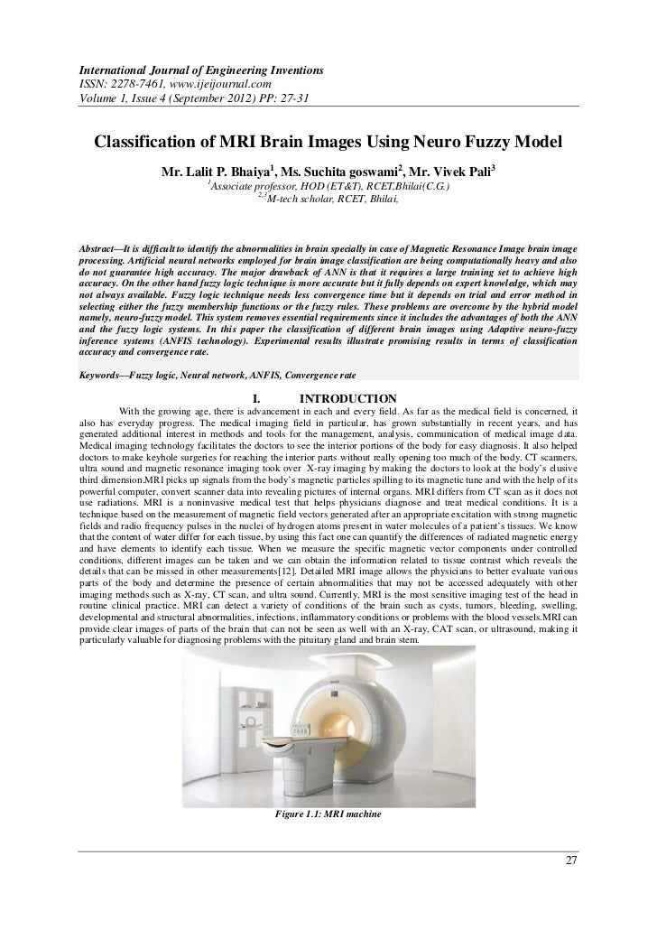International Journal of Engineering InventionsISSN: 2278-7461, www.ijeijournal.comVolume 1, Issue 4 (September 2012) PP: ...