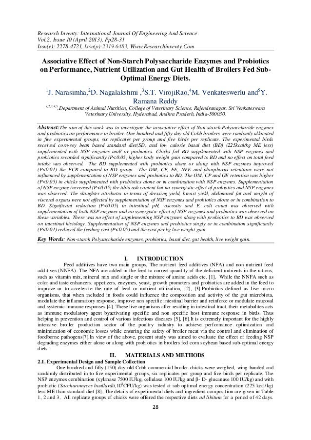 Research Inventy: International Journal Of Engineering And ScienceVol.2, Issue 10 (April 2013), Pp28-31Issn(e): 2278-4721,...