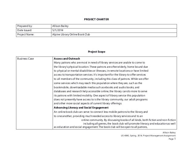 assignment construction project management