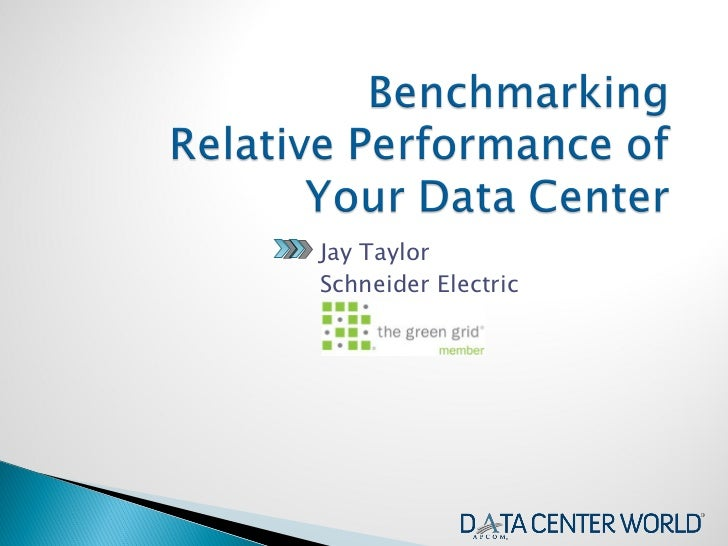 Benchmark the Relative Performance of Your Data Center