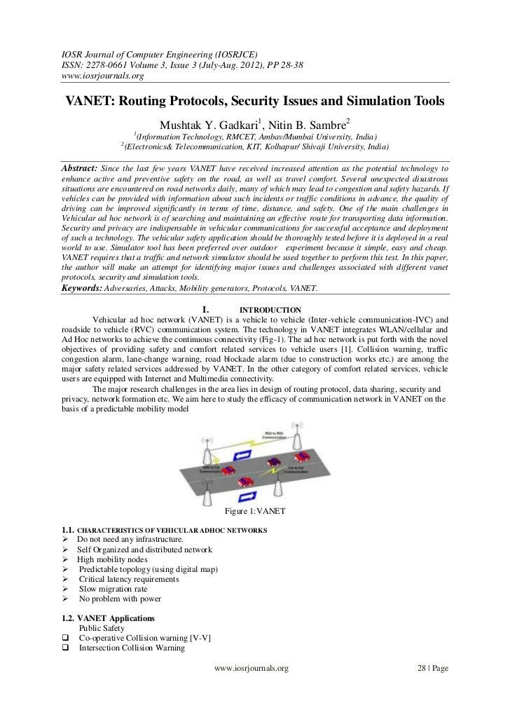 IOSR Journal of Computer Engineering (IOSRJCE)ISSN: 2278-0661 Volume 3, Issue 3 (July-Aug. 2012), PP 28-38www.iosrjournals...