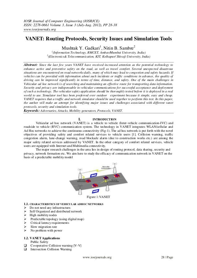 IOSR Journal of Computer Engineering (IOSRJCE) ISSN: 2278-0661 Volume 3, Issue 3 (July-Aug. 2012), PP 28-38 www.iosrjourna...