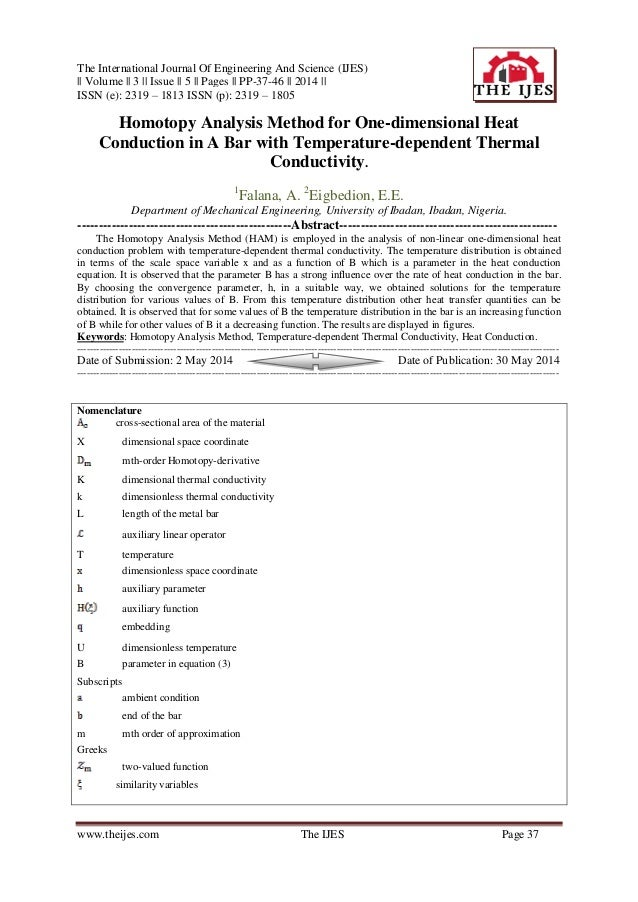 The International Journal Of Engineering And Science (IJES) || Volume || 3 || Issue || 5 || Pages || PP-37-46 || 2014 || I...