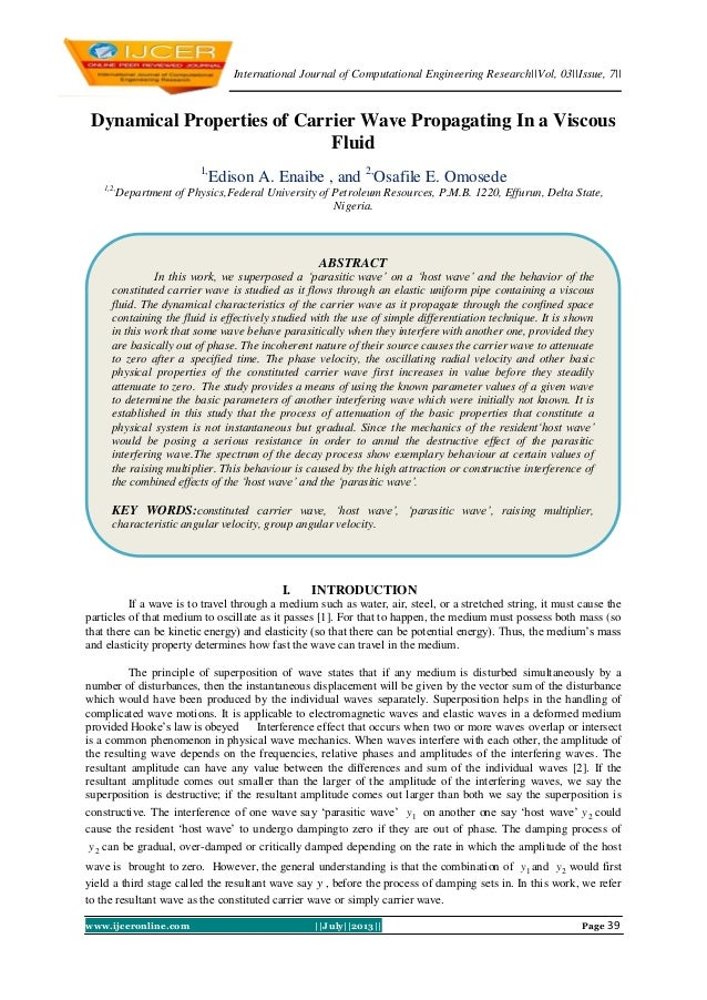 International Journal of Computational Engineering Research||Vol, 03||Issue, 7|| www.ijceronline.com ||July||2013|| Page 3...