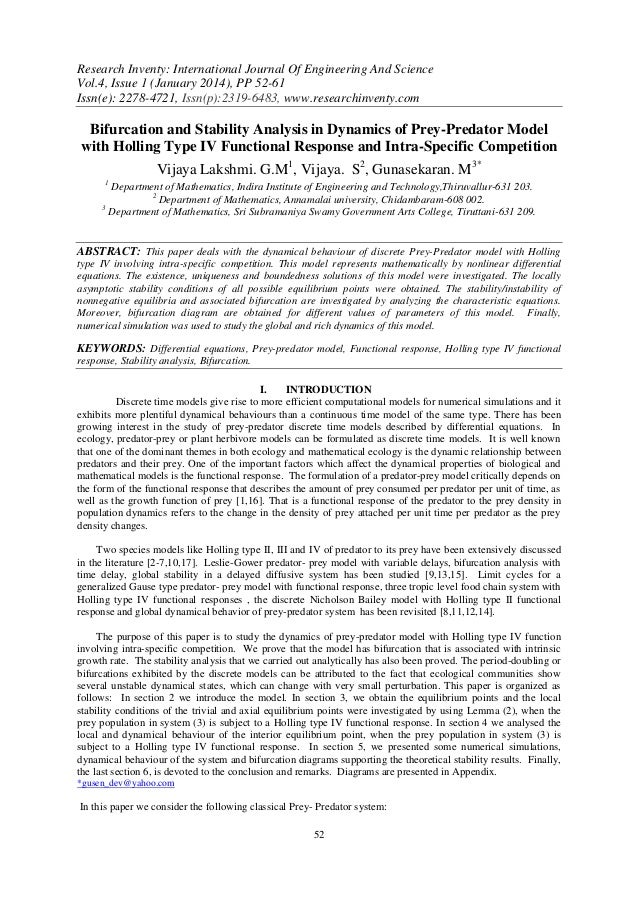 Research Inventy: International Journal Of Engineering And Science Vol.4, Issue 1 (January 2014), PP 52-61 Issn(e): 2278-4...