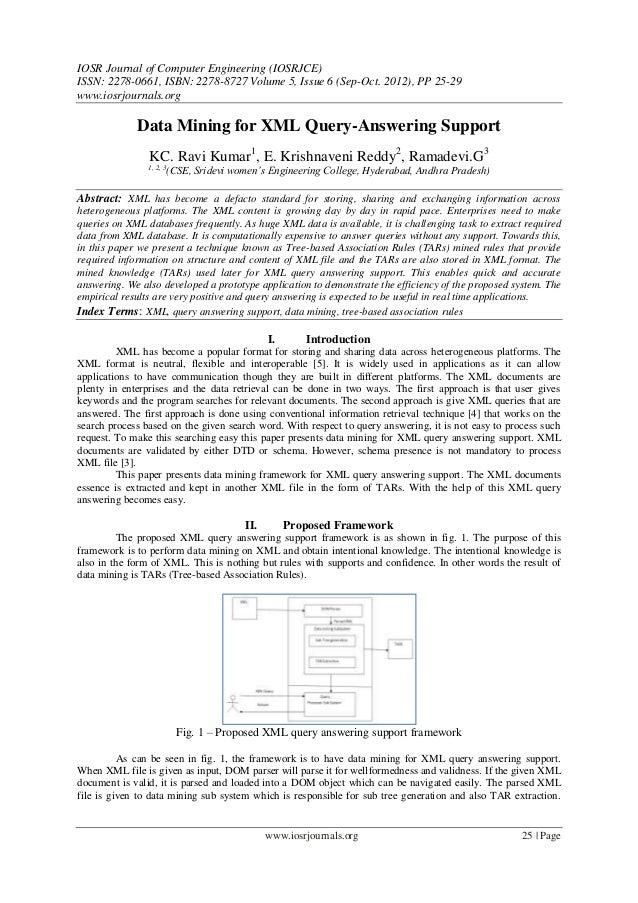 IOSR Journal of Computer Engineering (IOSRJCE) ISSN: 2278-0661, ISBN: 2278-8727 Volume 5, Issue 6 (Sep-Oct. 2012), PP 25-2...