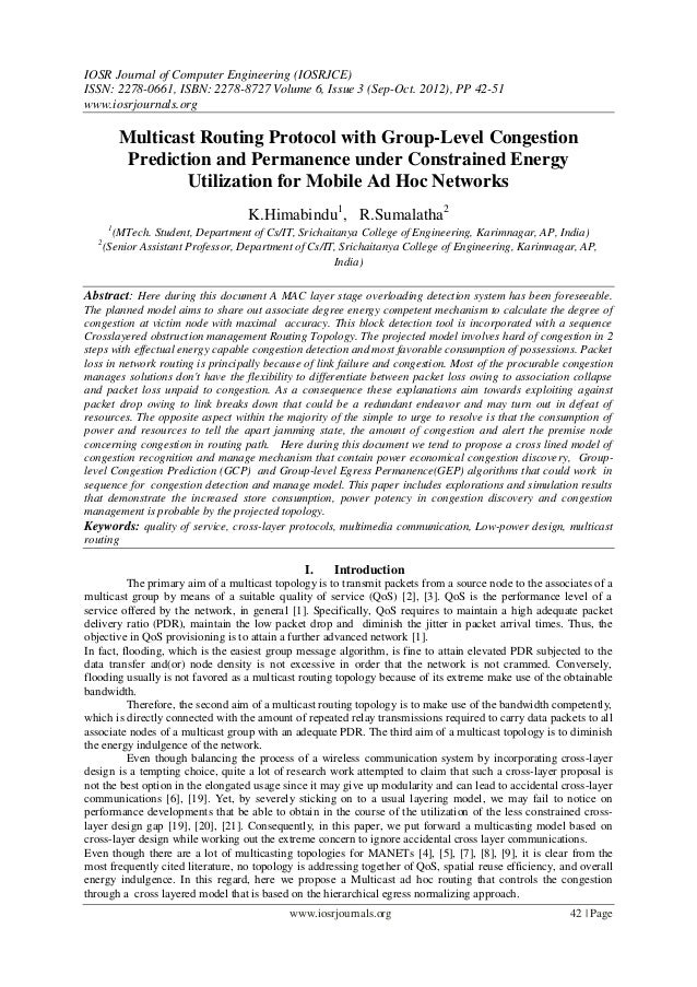 Multicast Routing Protocol with Group-Level Congestion  Prediction and Permanence under Constrained Energy  Utilization for Mobile Ad Hoc Networks