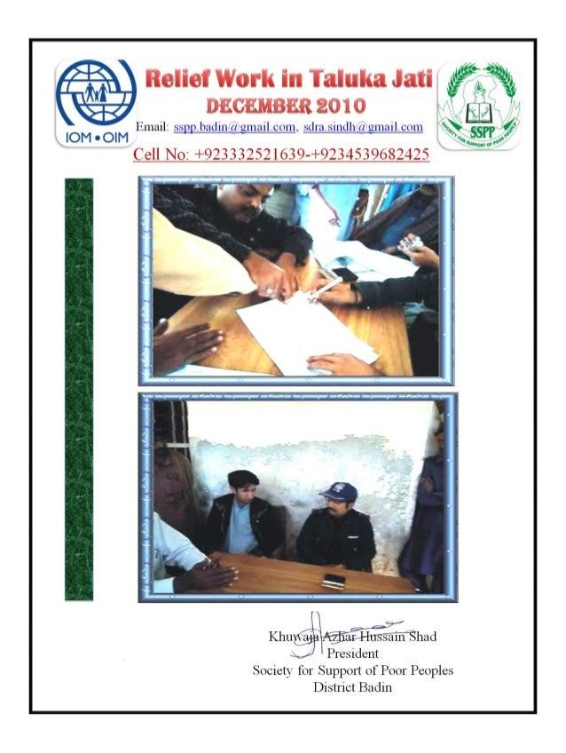DISTRIBUTION REPORT DEC 2010