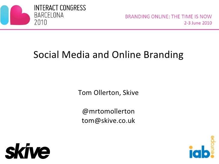 2010.06 Social Media and Online Branding