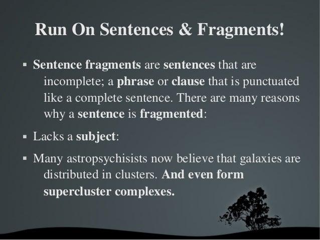 Sentences online