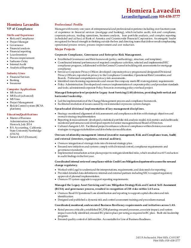 resume profile homiera lavaedin 2015 0403