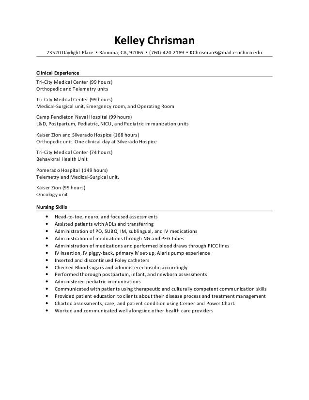 Charge Nurse Resume Samples VisualCV Resume Samples Database Next Image  Charge Nurse Resume Samples VisualCV Resume  Hospice Nurse Resume