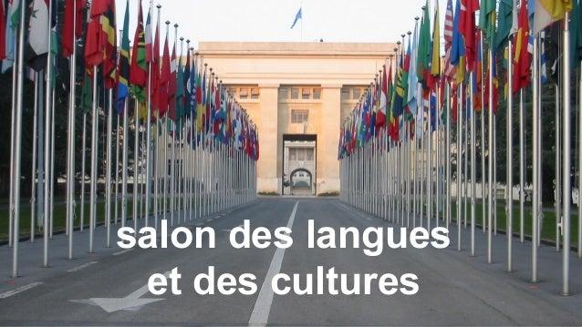 salon des langues et des cultures