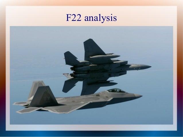 F22 analysis