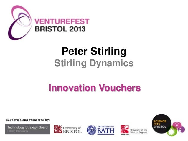 Peter Stirling Stirling Dynamics Innovation Vouchers