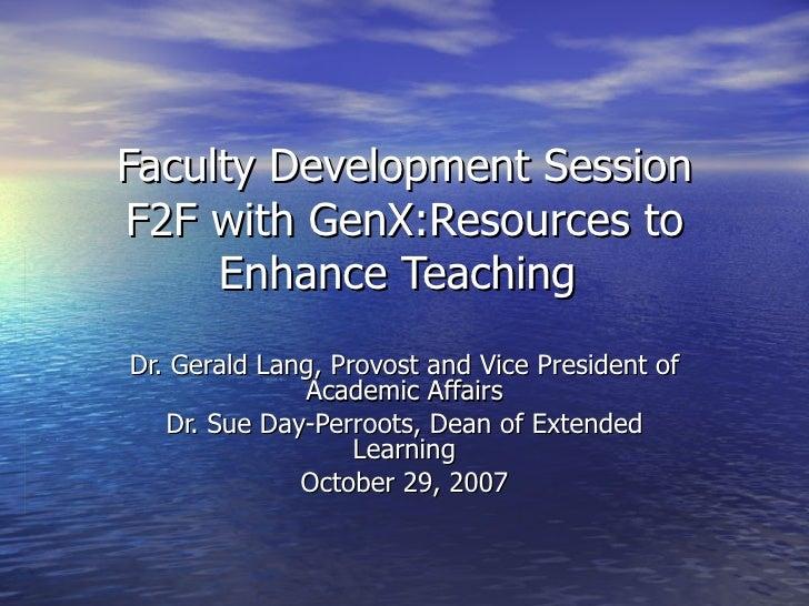 F2 F With Gen X