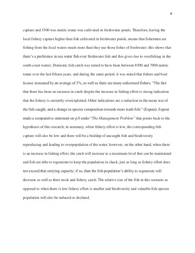Research paper about climate change