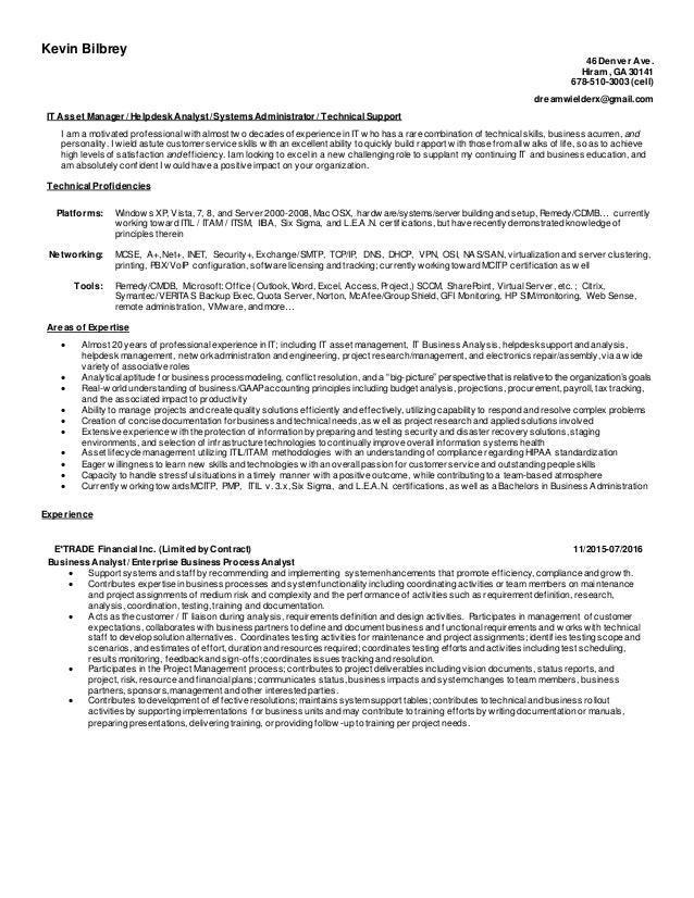 proficiencies on resume