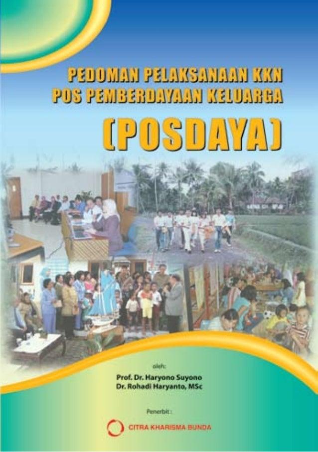 Buku Pedoman KKN Posdaya Undip