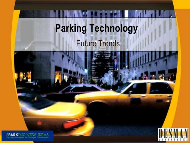 Parking Technology Future Trends