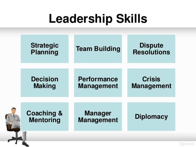leadership skill list