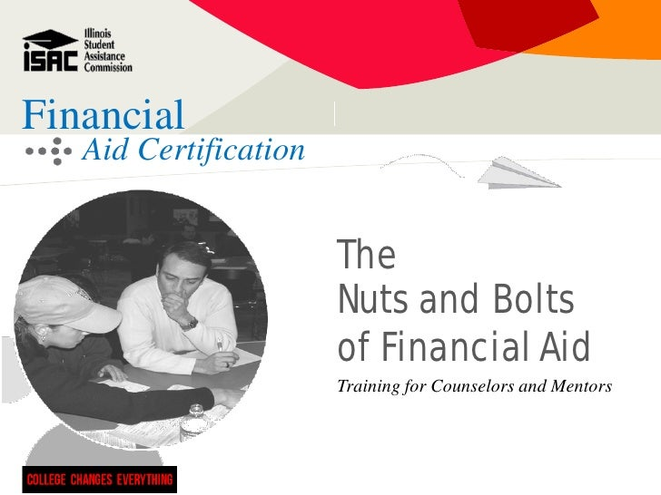 F41 Nuts and Bolts of Financial Aid
