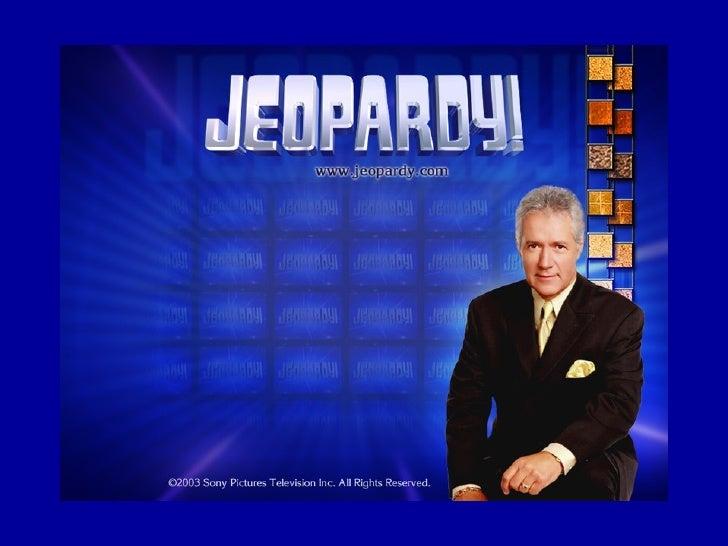F451 Jeopardy