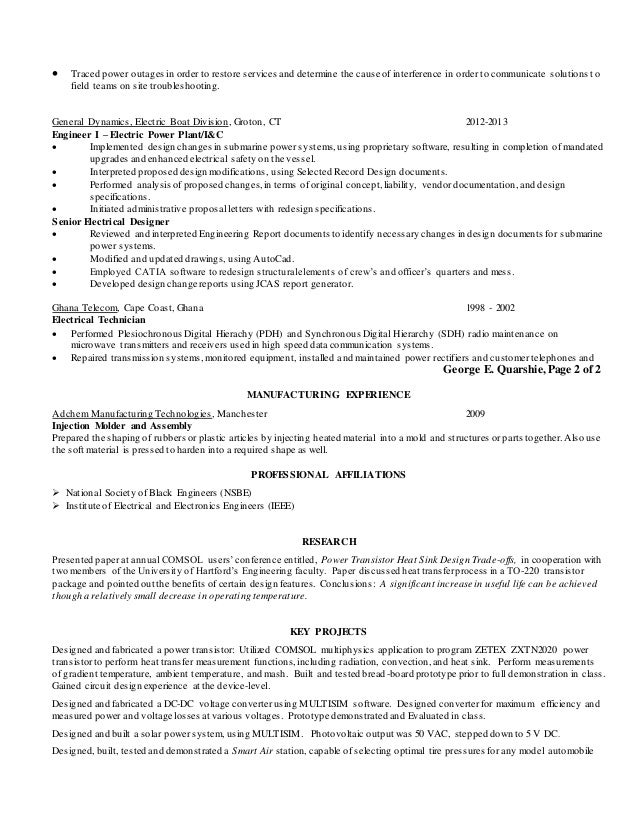 resume power system engineer 28 images resume of