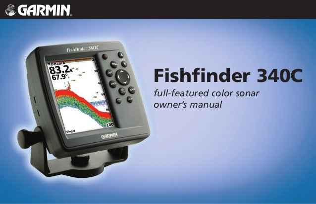 Fishfinder 340C full-featured color sonar owner's manual