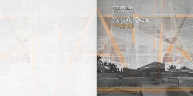 Muna Al-Qroum Portfolio