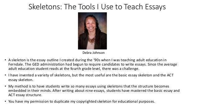 How do you teach writing a essay in detroit?