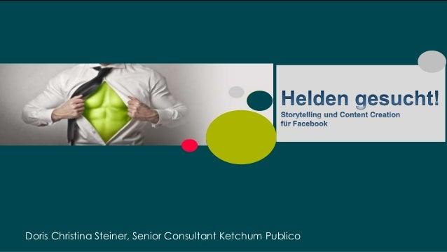 1 | Doris Christina Steiner, Senior Consultant Ketchum Publico
