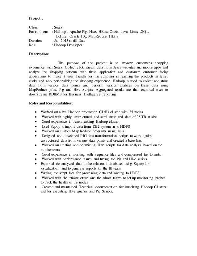 hadoop analytics resume hadoop jobs resume dos donts informationweek hadoop open source big data analytics