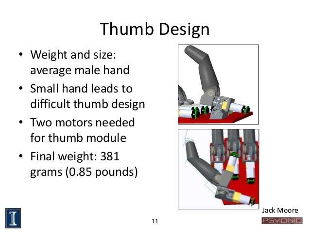 Senior Design Myoelectric Prosthetic Hand