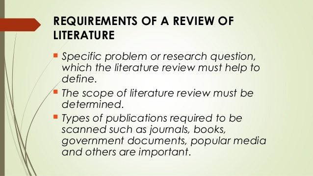 Need help in Literature review~ Question for research writter?