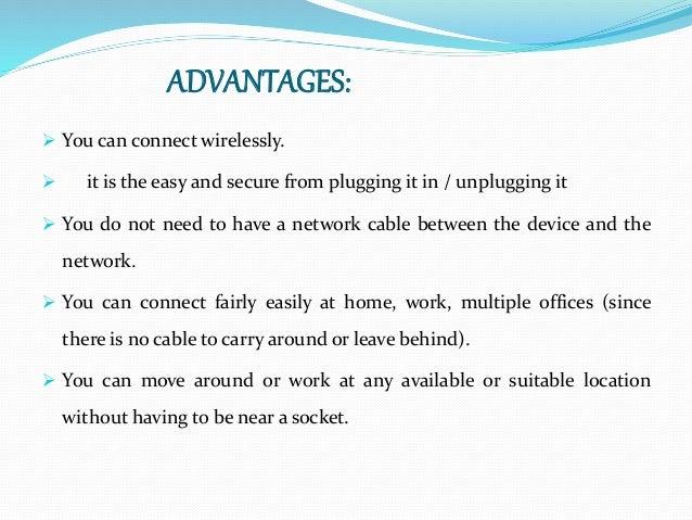 wireless usb ppt