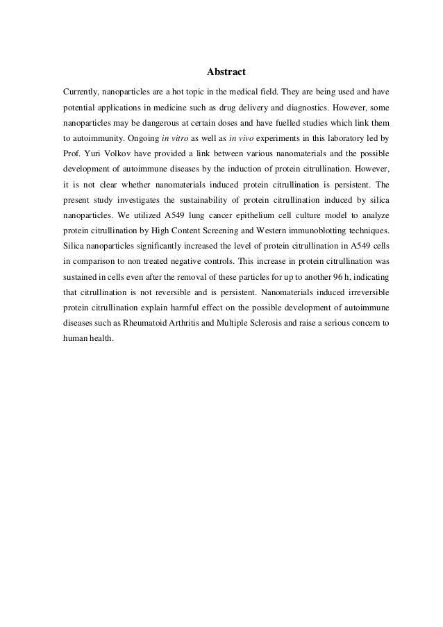 M sc thesis topics