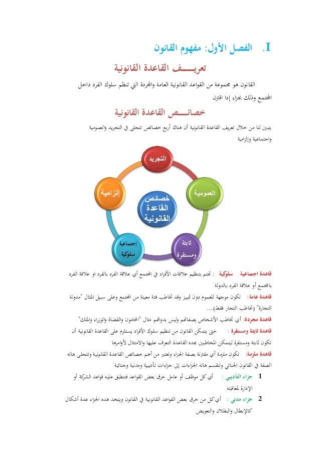 ملخص لكتاب مدخل لدراسة القانون الوضعي