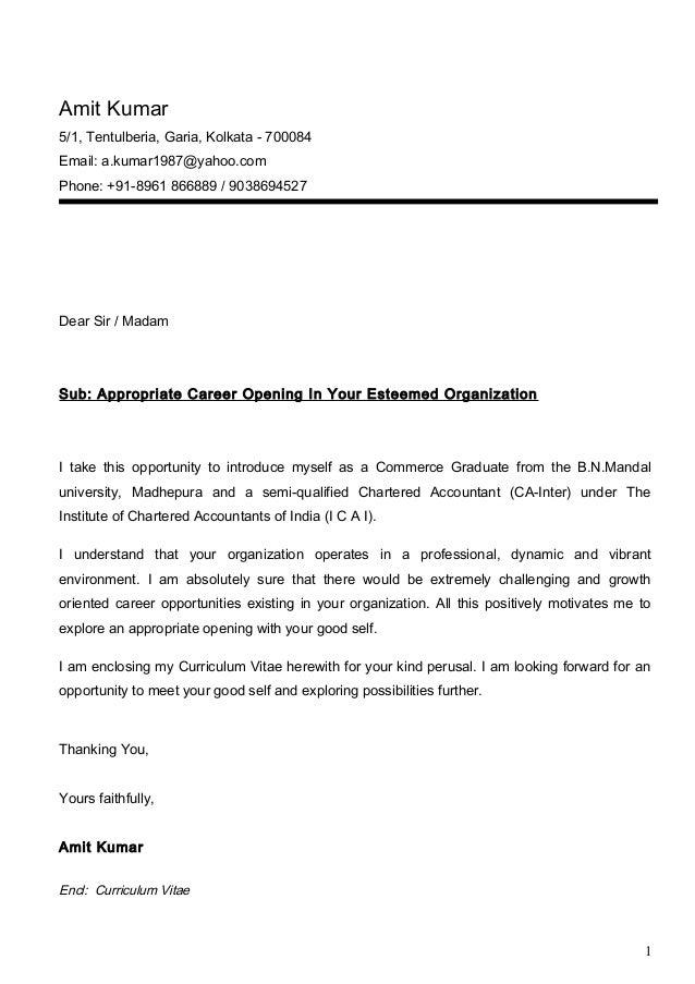 Cv Covering Letters  Cover Letter For Cvs