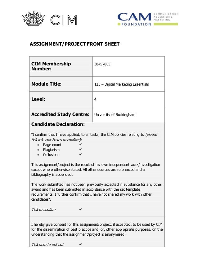 Buy digital marketing assignment