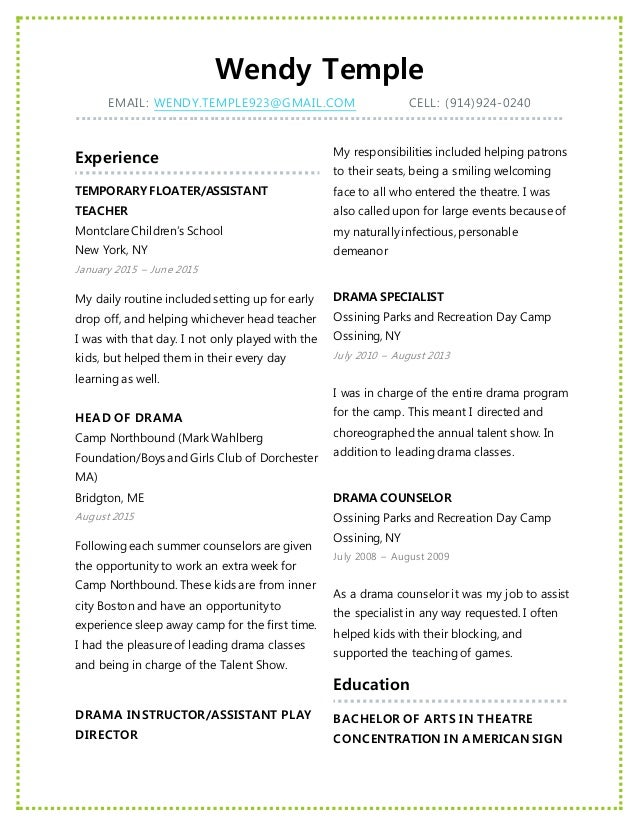 28 temple resume format 19 temple resume template letter
