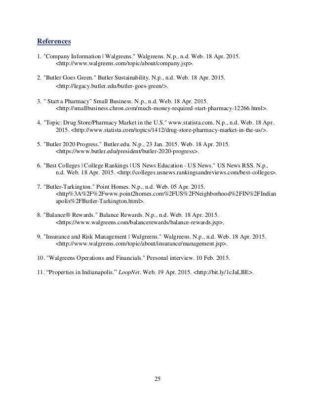 Walgreens SWOT Analysis, Competitors & USP