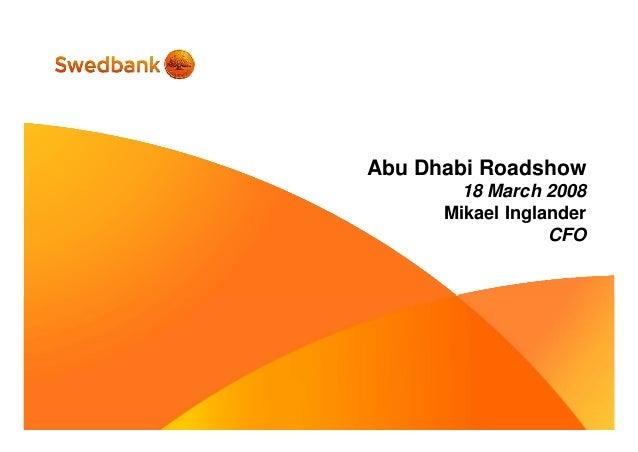 Roadshow, Abu Dhabi