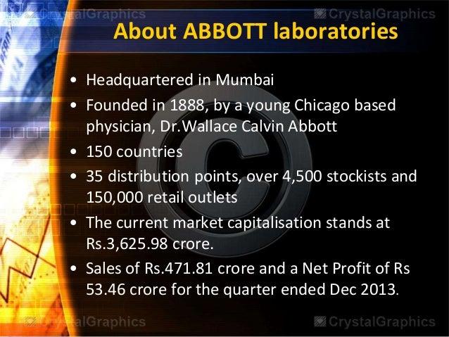 abbott laboratories swot analysis Abbott laboratories company profile, corporate revenues, growth, market size, analysis, business forecasts, market share, metrics, swot.