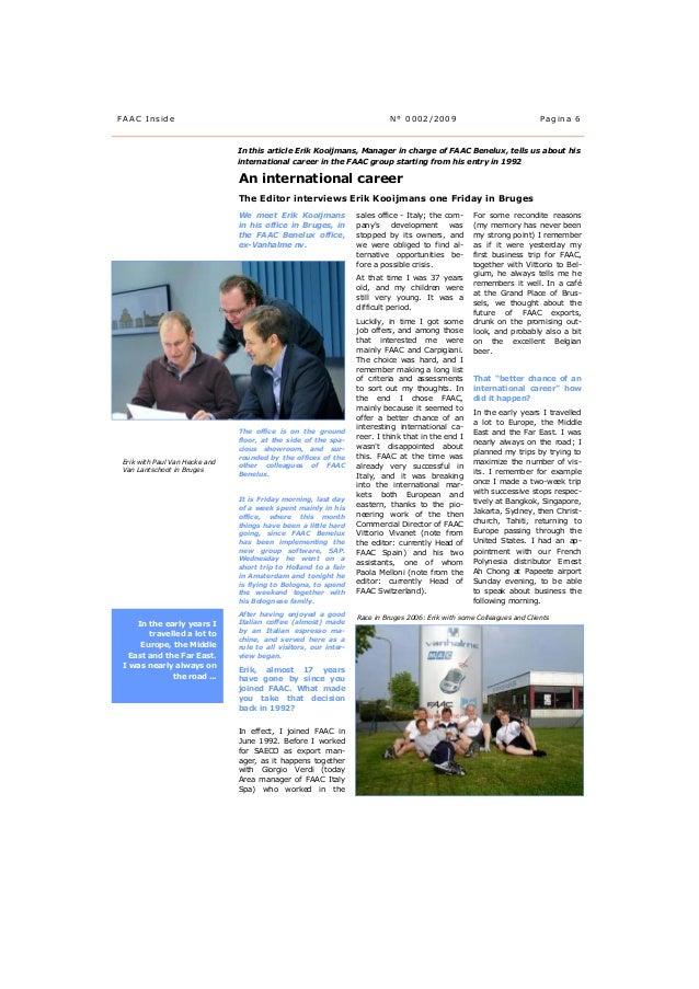 Interview with Erik Paul Kooijmans (CEO FAAC Benelux)